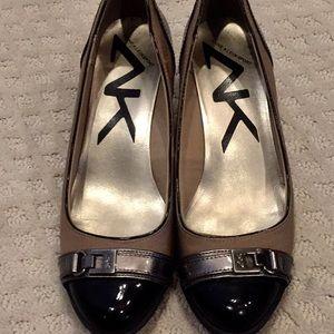 Anne Klein Sport wedge ballet shoes